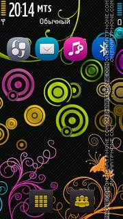 Purity Flora Black theme screenshot