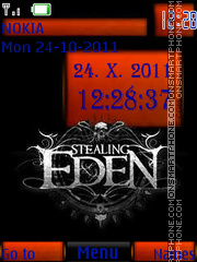 Stealing Eden By ROMB39 theme screenshot