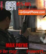 Max Payne 01 theme screenshot