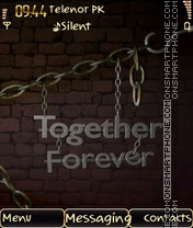 Together Forever theme screenshot