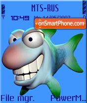 Fish 02 es el tema de pantalla