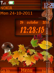 And again Autumn By ROMB39 theme screenshot