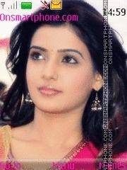 Скриншот темы Samantha Ruth Prabhu 01