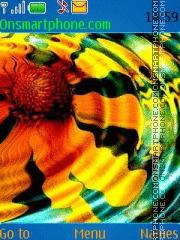 Abstract Flower 02 theme screenshot