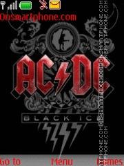 Acdc Black Ice es el tema de pantalla