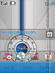 Swf Cool Clock theme screenshot