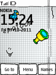 3d Cartoon 01 theme screenshot