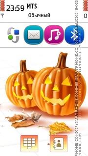 2 Pumpkins tema screenshot