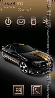 Ford Mustang 92 theme screenshot