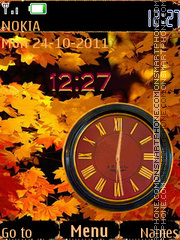 November theme screenshot