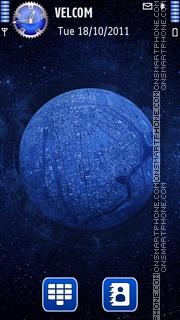 Скриншот темы Cosmos by VladStudio