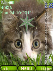 Happy Cat theme screenshot