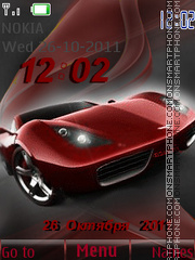 Speed time theme screenshot