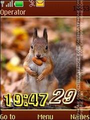 Animals in autumn12 pict swf theme screenshot