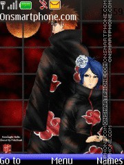 Konan and Pein theme screenshot