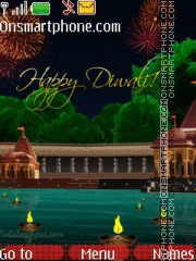 Happy Diwali 2011 tema screenshot
