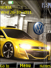 Volkswagen 03 theme screenshot