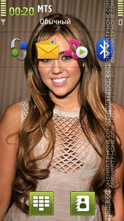 Скриншот темы Miley Cyrus 04