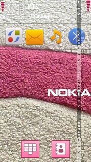 Nokia Pink 04 theme screenshot