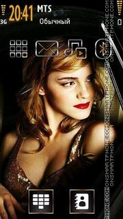 Emma Watson 27 Theme-Screenshot