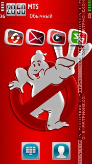 Ghost Busters theme screenshot