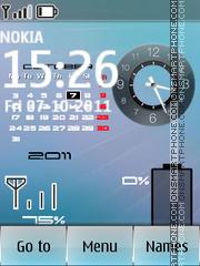 Iphone Calendar Battery es el tema de pantalla