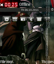 Kabuto Tobi One theme screenshot
