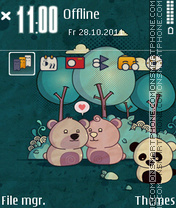 Bears 03 theme screenshot