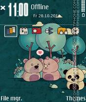 Capture d'écran Bears 03 thème