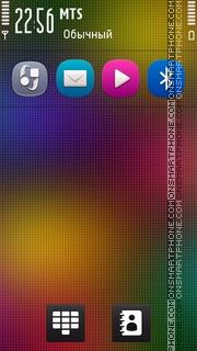 Rainbow Colorful theme screenshot