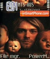 Nirvana Kurt es el tema de pantalla