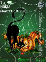 Скриншот темы Happy Halloween
