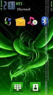 Green Dragon 03 theme screenshot