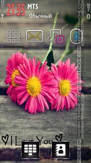 I Love You 47 tema screenshot