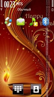 Happy Diwali 2012 theme screenshot