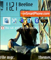 Avril theme screenshot