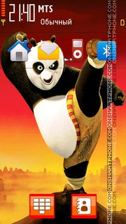Kungfu Panda 03 theme screenshot