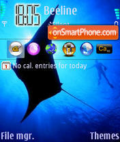 BlueRay theme screenshot