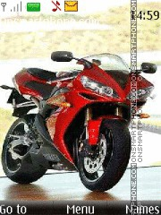 Yamaha Red tema screenshot