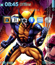 Скриншот темы Wolverine 12