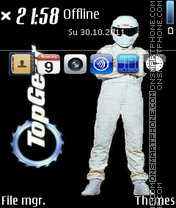 The Stig - Top Gear es el tema de pantalla