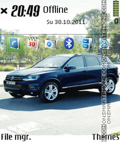 Volkswagen Touareg 2013 theme screenshot