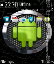 E5 Android theme screenshot