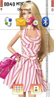 Barbie 08 theme screenshot