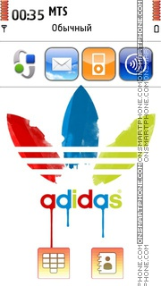 Adidas 03 theme screenshot