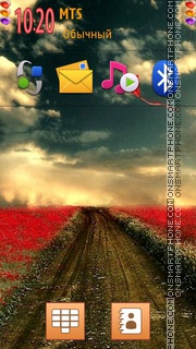 Nice Path tema screenshot