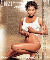 Halle Berry theme screenshot