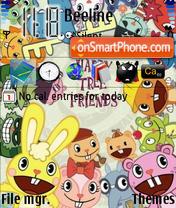 Скриншот темы Happy Tree Friends 03