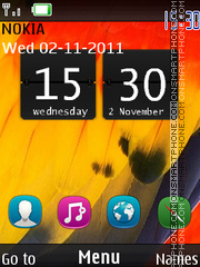 Symbian Android theme screenshot