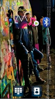 Coldplay theme screenshot